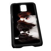 Schwarz Cover für Galaxy S50211Papillon Hund