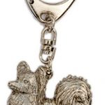 Papillon Hergestellt in U.K. Kunstvolle Hunde- Schlüsselanhänger Sammlung