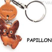 Papillon Hundehalsband Klein Schlüsselanhänger VANCA Craft-Sammelfigur Schlüsselanhänger, Made in Japan - 1