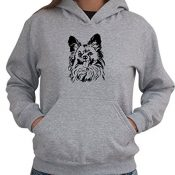 Papillon FACE SPECIAL GRAPHIC Women Dame Hoodie - 1